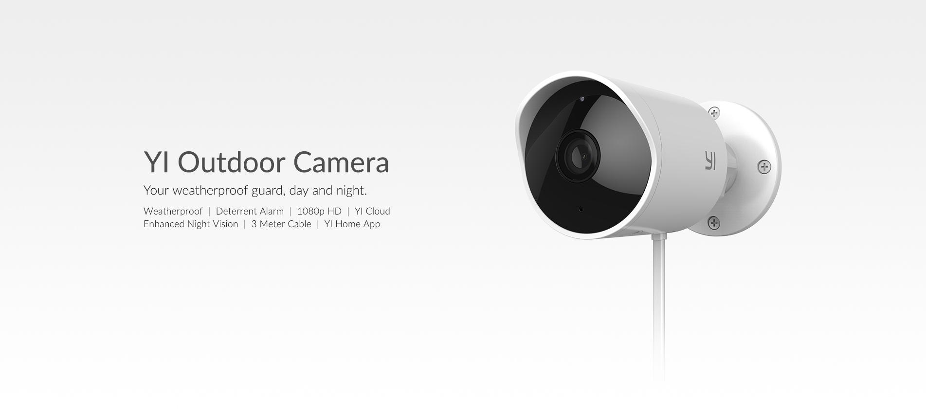 Xiaomi Yi Outdoor camera